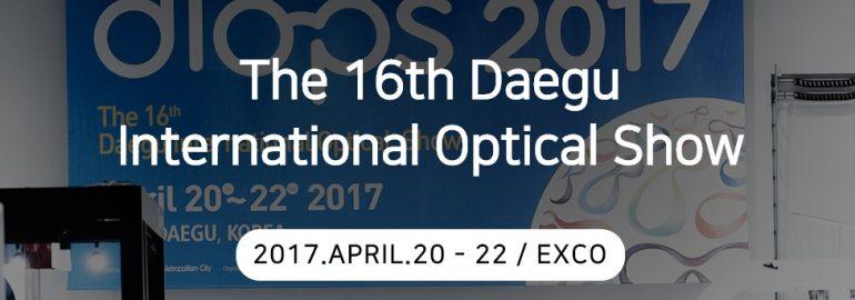 diops 2017 (Daegu International Optical Show)