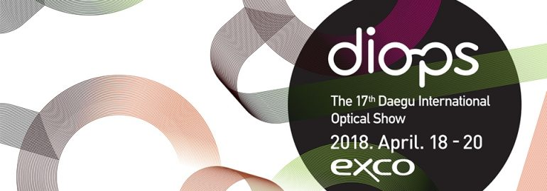 diops 2018 (Daegu International Optical Show)